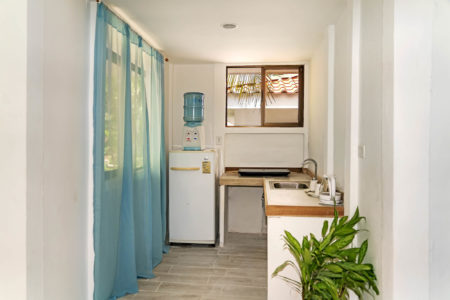 Kitchenette in rental Villa