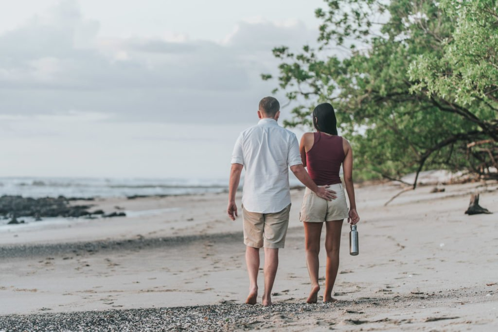 Romantic beach holiday, Costa Rica