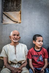 old man and boy